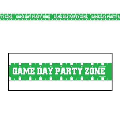Game Day Party Zone Party Tape