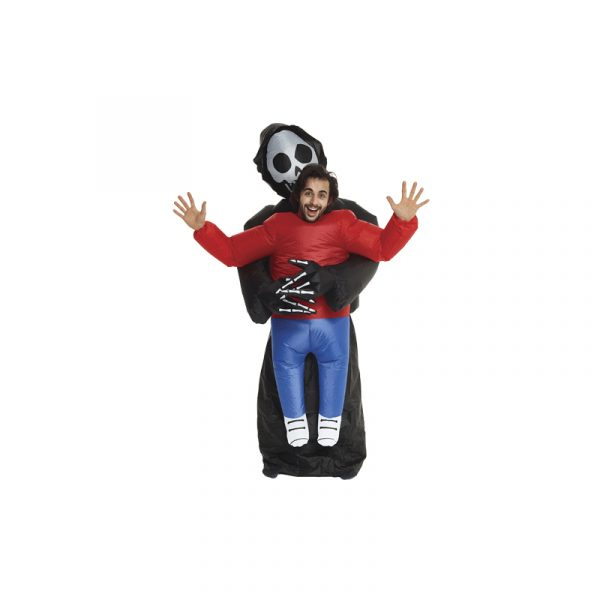 Inflatable Pick Me Up Grim Reaper