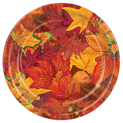 Fall Leaf Tableware Plates and Napkins