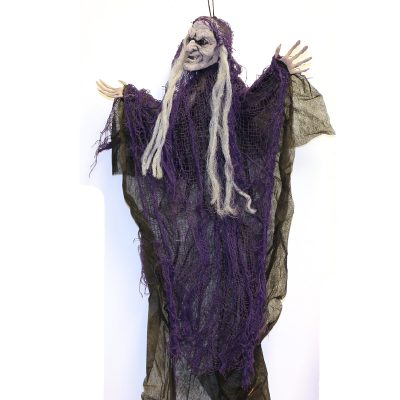 Fabric Hanging Witch