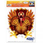 Crazy Turkey Car Cling