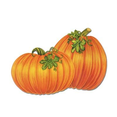 Packaged Pumpkin Cutouts