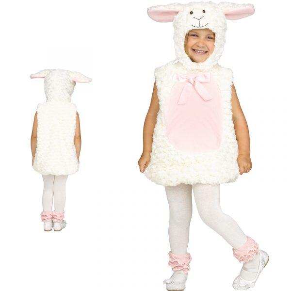 Sweet Lamb Toddler Costume