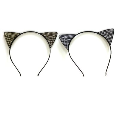 Costume Mini Studded Cat Ears Headband