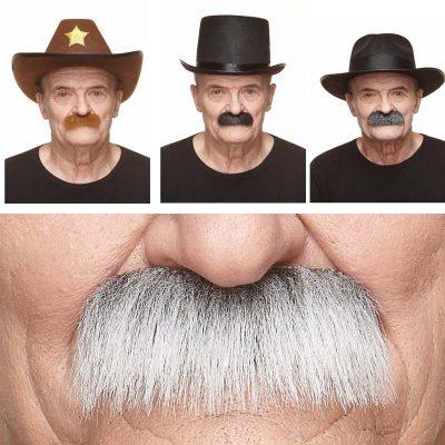 Grandpa's long-hair mustaches
