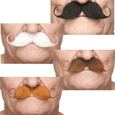 Costume Curled Handlebar Mustaches