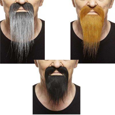 Duck Tail Mustache & Beard
