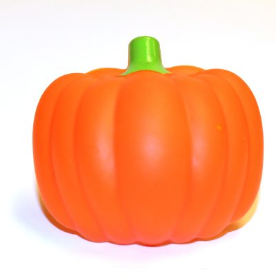 Autumn Plastic 3 D Pumpkin Ring