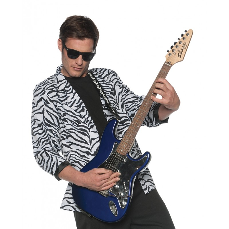 80s Zebra Blazer