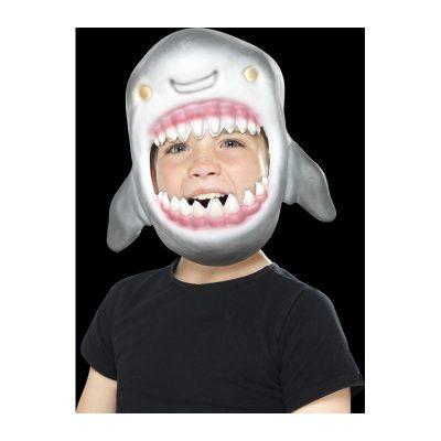 Soft Foam Full-Head Shark Mask