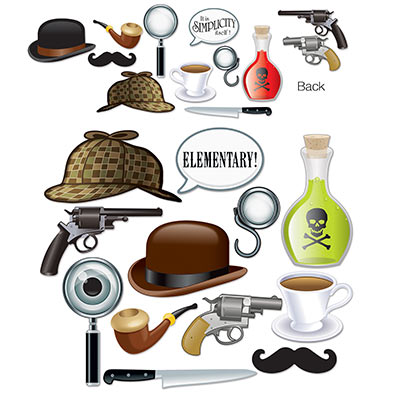 Sherlock Holmes Photo Fun Signs