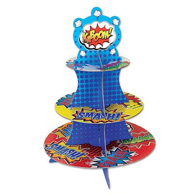 Hero Cupcake Stand