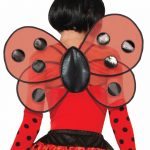 Costume Polyester Lady Bug Wings