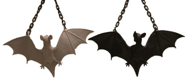 Rubber Flying Bat with Chain
