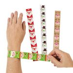 Christmas Design Slap Bracelets
