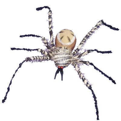 24 Inch Furry Bendable Tropic Spider