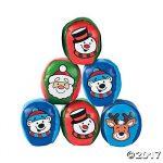 Vinyl Christmas Character Kickballs