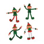 4 Inch Christmas Bendable Elf