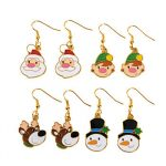 Christmas Earrings - One pair per card Sale Priced