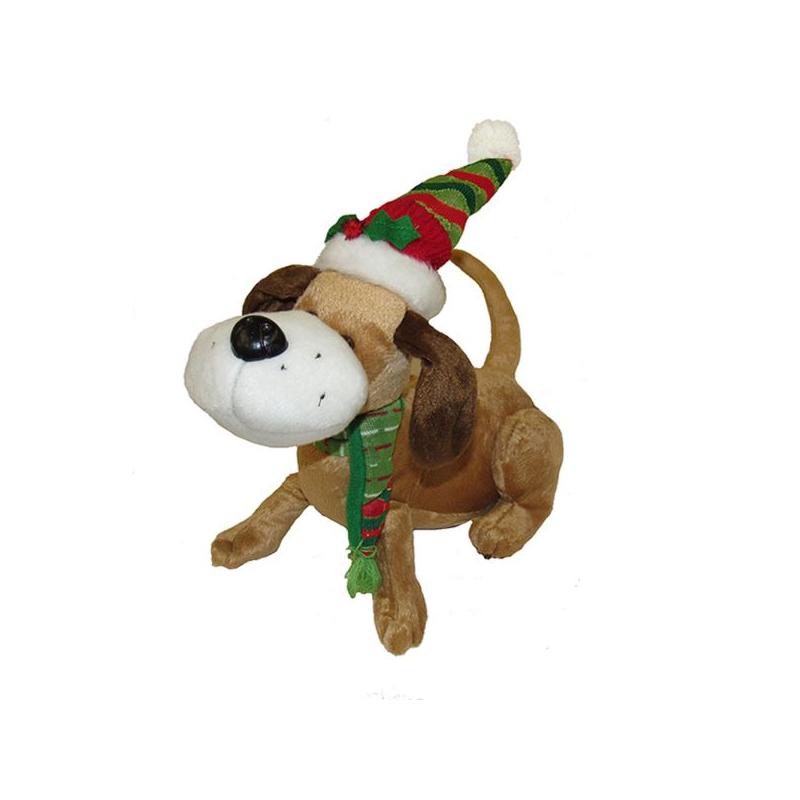 Buy 16 Singing Rocking Plush Christmas Wiener Dog Cappel S