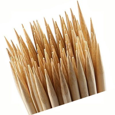 16 Inch Natural Bamboo Skewer Sticks