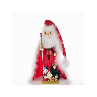 Santa with Toys Wooden Hollywood Nutcracker