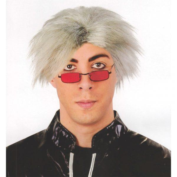 Mad Scientist Grey Wig