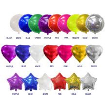 Mylar Balloon Round Solid Colors