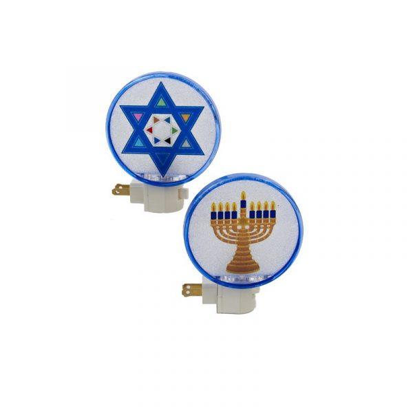 Electric Hanukkah Night Light