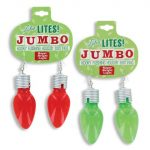 Christmas Light-up Mutli-function Jumbo -Bulb-Earrings