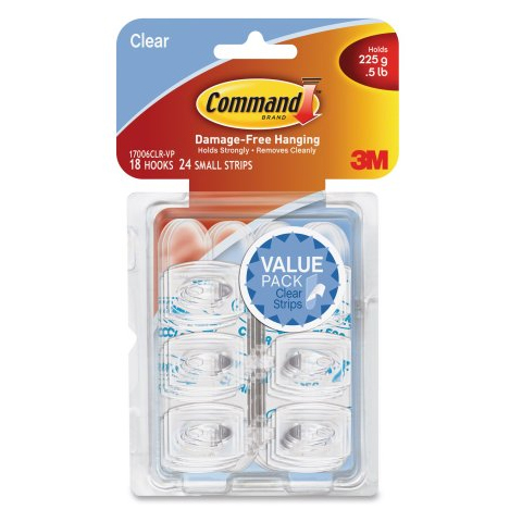 3M Clear Command Decorating Strips