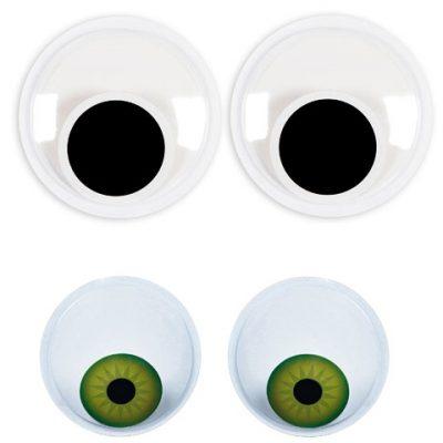 6 Inch Sticky Back Wiggle Eyes