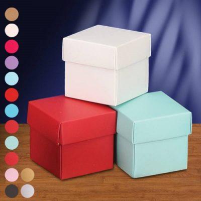 2 Piece Square Cardboard Gift Box