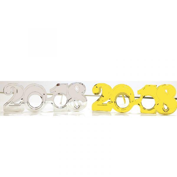 Metallic Plated Plastic 2018 Eyeglasses