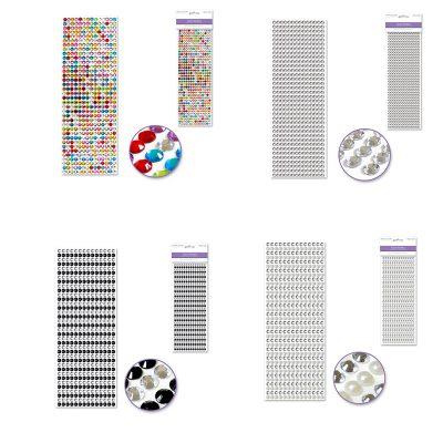 Round Gem Stickers