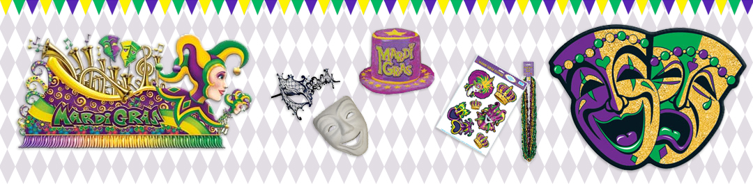 Buy Mardi Gras Party Supplies online or at Cappel's In Cincinnati OH