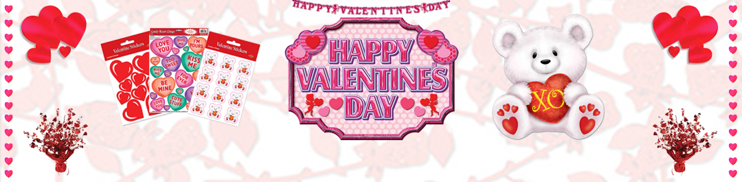 Buy Valentine's Day Party Supplies online or at Cappel's In Cincinnati OH