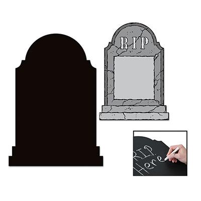 Chalkboard Tombstone Cutout
