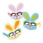 Cardboard Easter Bunny Eyeglasses