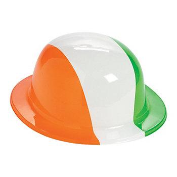 Printed Ireland Plastic Derby Hat