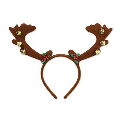 Reindeer Antlers with Bells