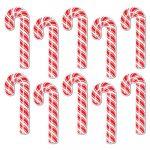 Mini Candy Cane Cutouts
