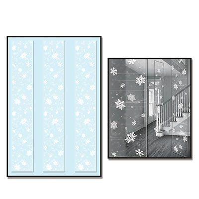 Snowflake Party Panels