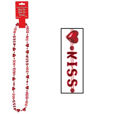 Hug Me Kiss Me Beads of Expression Valentines Day