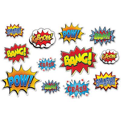 Hero Action Sign Cutouts