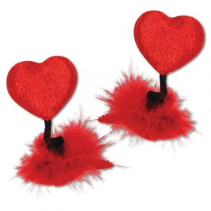 Heart Hair Clips Valentines Day