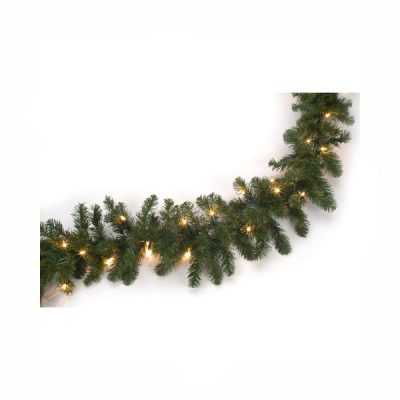 Tapered Needle Pine with Clear Lights
