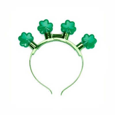 Light Up Shamrock Headband