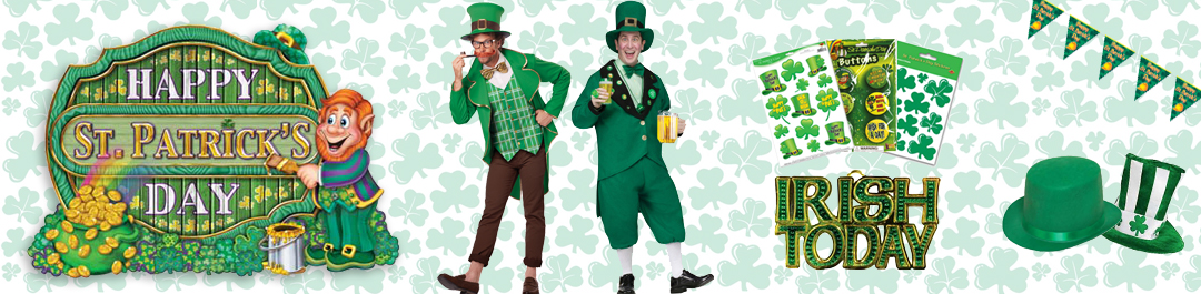 Buy St. Patrick's Day Party Supplies online or at Cappel's In Cincinnati OH