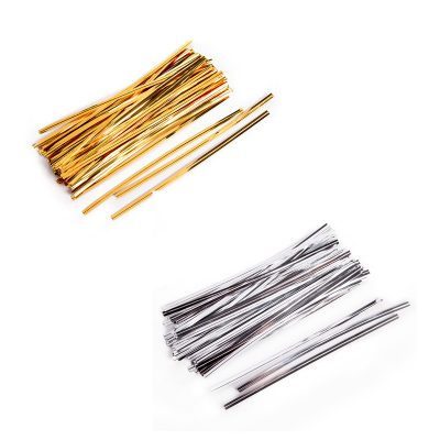 Metallic Vinyl Twist Ties